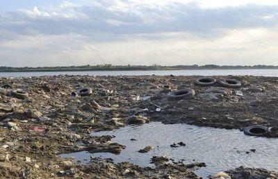 Bajante de río afecta a aves acuáticas