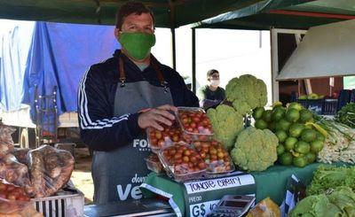 Concepción sigue celebrando el Domingo Verde con la familia y productores