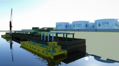"""Destacan avances para la instalación de fábrica de biocombustibles """"Omega Green"""""""