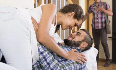 Video porno casero y delito: filmaba a su mujer teniendo sexo con otro, frente a bebé