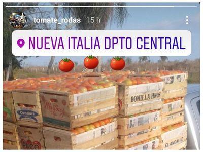 El Tomate Rodas, de la cancha a la huerta