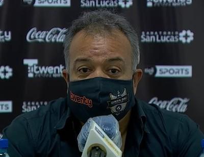 Robert Pereira, dolido con la situación de General Díaz
