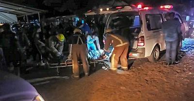 Concepción: Linces y automovilista involucrados en accidente
