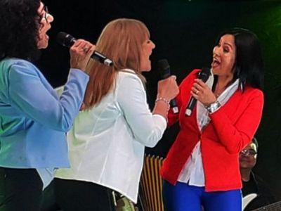 Logro de Mirta Noemí  y Las Hermanas Vera en los Gardel