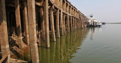 La Nación / Preocupa descenso de ríos que ya está por debajo de lo normal