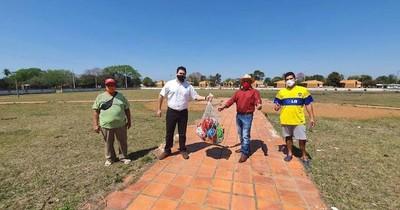 La Nación / Habilitan plaza deportiva en Gral. Díaz, Ñeembucú