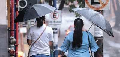 Meteorología anuncia lluvias dispersas para el norte del país