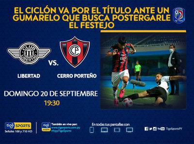 Cerro Porteño va por el triunfo que lo consagre