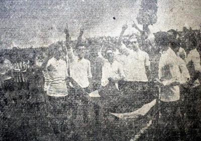 HOY / A 95 años del primer partido amistoso en el renovado estadio de la Liga Paraguaya