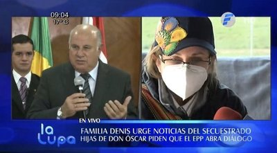 La familia de Óscar Denis sigue sin noticias del secuestrado