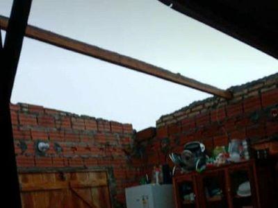 Temporal causó algunos daños en Puerto Casado