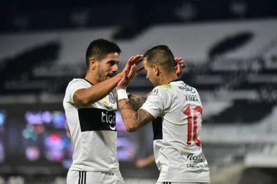 Olimpia destroza a Luqueño y se llena de confianza para la Copa