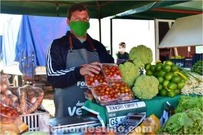 En FORTIS Mayorista de Concepción sigue la feria Domingo Verde, con un espacio de venta a los productores de la zona y del Chaco