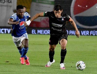 Roberto Ovelar anota en la victoria del Once Caldas