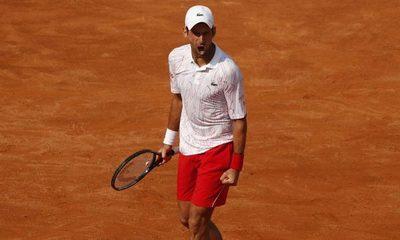 Novak Djokovic es finalista del Masters 1000 de Roma