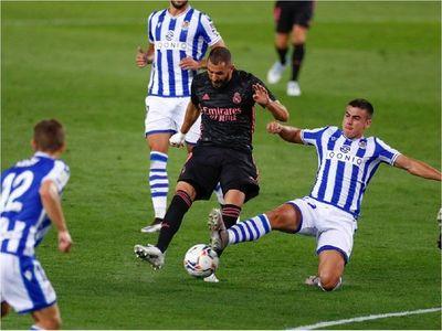 La Real Sociedad vuelve a puntuar ante un Real Madrid al que le falta gol