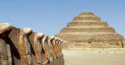 Descubren 14 sarcófagos de hace 2.500 años en Saqqara, Egipto