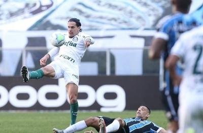 HOY / Brasil: Palmeiras cede un empate ante Gremio y se aleja del líder, Atlético Mineiro