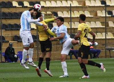 Desteñido empate en Dos Bocas entre Guaraní y Guaireña