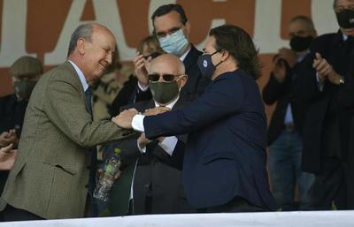 """Presidente de Lacalle en acto de la Expo Prado: """"Yo estoy con el campo"""""""