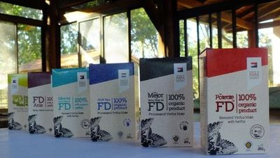 Sabor paraguayo que conquista: Yerba mate orgánica FD, presente en los mercados más exigentes del mundo