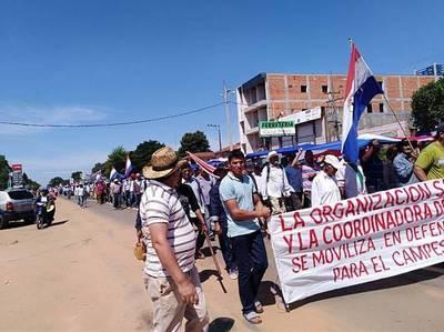 Campesinos se movilizarán la próxima semana y no descartan cierre de rutas