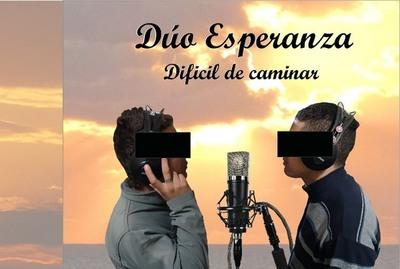 """""""Dúo Esperanza"""" se abre paso en la música y apunta a la reinserción social"""