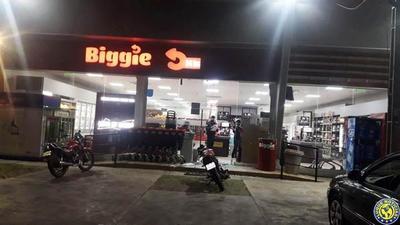 Ladrones roban G. 4 millones de Biggie, en Ñu Guasu •