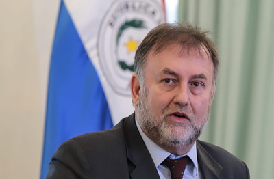 Benigno considera desfasado informe que califica a Paraguay con alto riesgo de corrupción, narcotráfico y lavado