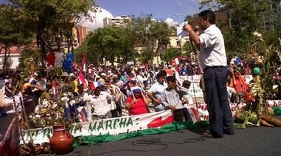 Movilización campesina será el 29 de septiembre