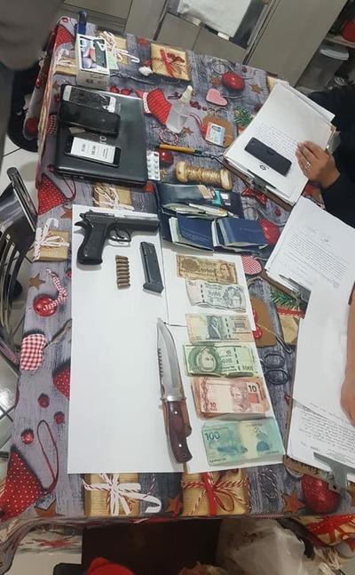 Detenido presunto 'escolta' de asesinos de empresario en Salto del Guairá