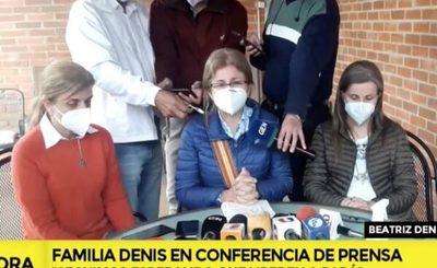 Familia de Oscar Denis se llama a silencio