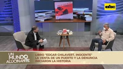 "″Édgar Chilavert, inocente"" de Roque González"