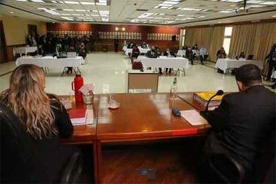 Suspendido por covid, juicio del caso audios del JEM