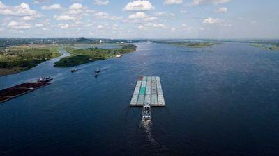 Sin lluvias importantes en meses y con bajo nivel del río Paraguay, preocupa exportación de soja