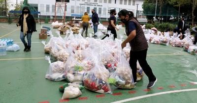 La Nación / Comunidades educativas entregan mañana 80 mil kilos de víveres recolectados