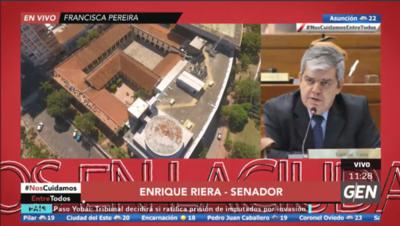 HOY / Enrique Riera, sobre la excusa de no respaldar la Pérdida de Investidura