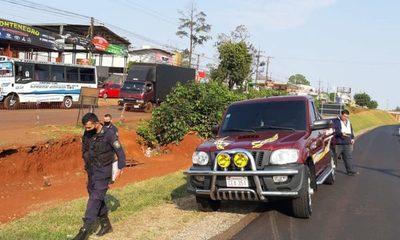 Millonario asalto a funcionario de estación de servicio