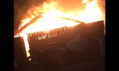 Incendio de vivienda habría sido intencional – Prensa 5