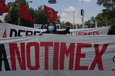 Sindicato de Notimex pide intervención de López Obrador para resolver huelga