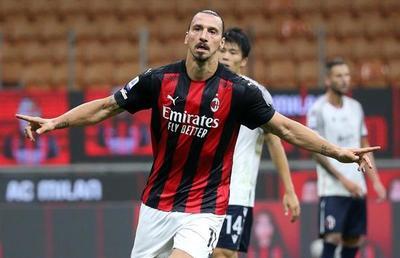 Ibrahimovic le da el primer triunfo de la temporada al Milan