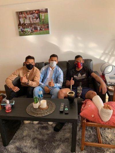 Los Romero visitaron a Herrera