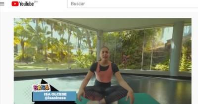 """La Nación / """"Saga deportiva"""": rutina de estiramientos físicos"""