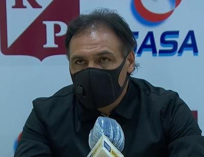 Celso Ayala considera justo el triunfo ante Nacional