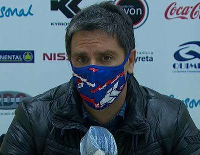 Rodrigo López lamenta el gol sobre el final