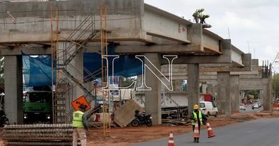 La Nación / Viaducto de 1.340 metros ya registra 70% de avance en zona del Botánico