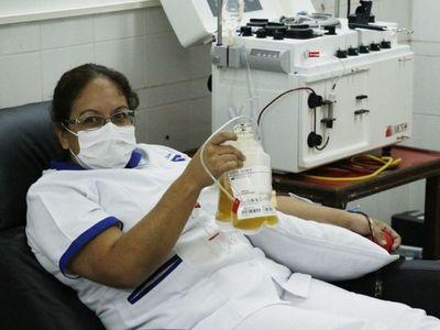 Descartan  que  una donación  de plasma pueda ser dirigida
