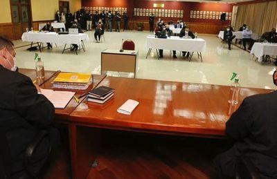 Tribunal postergó juicio contra OGD por covid positivo en Oviedo Matto