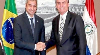 Apertura del puente: Abdo y Bolsonaro coordinaron protocolo