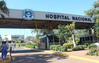 El 95% de las camas de UTI se encuentran ocupadas en el Hospital Nacional de Itauguá